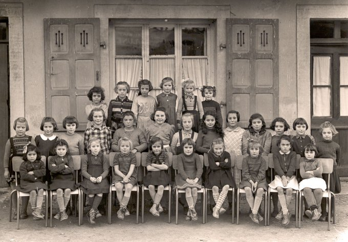 11 - Photos de classe de filles