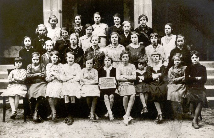 01 - Photos de classe de filles