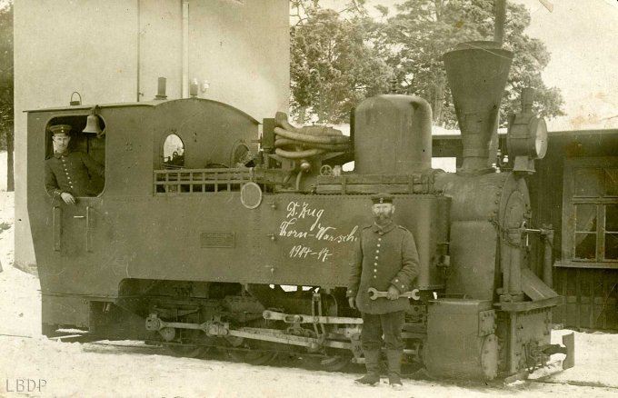 07 - Une locomotive pendant l'occupation de l'Alsace par les allemands
