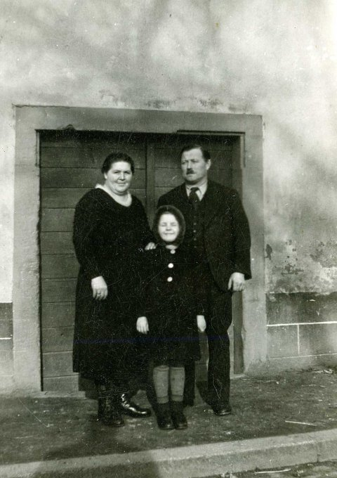 071 - Route de Gunsbach - Anne, Albert et Anne-Marie