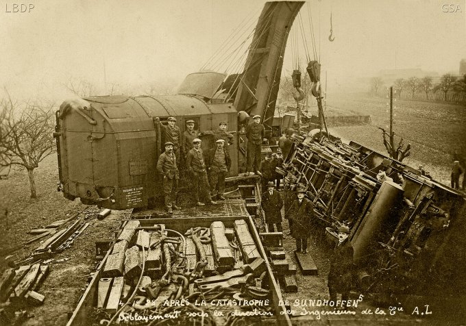 17 - L'accident de train à Sundhoffen le 4 décembre 1928
